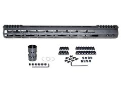 """Presma® Super Light Weight Free Float M-LOK Handguard with Partial Top Rail for AR-15 .223/5.56, 17"""""""