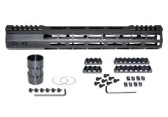 Presma® Super Light Weight Free Float M-LOK Handguard with Partial Top Rail for DPMS LR .308 Low Profile, 13""