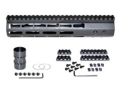 Presma® Super Light Weight Free Float M-LOK Handguard with Full Top Rail for DPMS LR .308 Low Profile, 10""