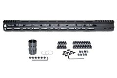 """Presma® Super Light Weight Free Float M-LOK Handguard with Partial Top Rail for AR-15 .223/5.56, 19"""""""