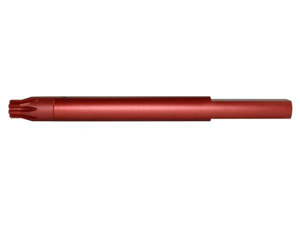 """.223 Barrel Vise Block Rod for 0.750"""" Barrels, Red"""