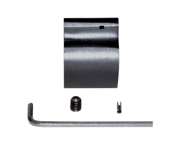 "Low Profile Gas Block for 0.750"" Barrels, Black Steel"