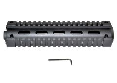 """2 Piece Drop In Handguard Quad Rail Mount for 223/5.56, Mid Length 8.7"""""""