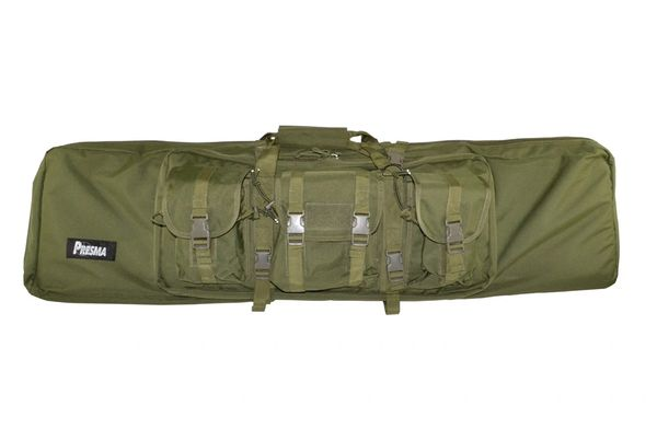 Presma® 47 inch Double Rifle Soft Case, Green