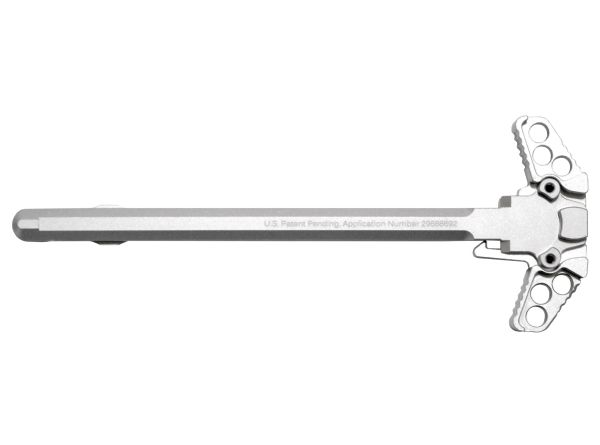 New from Presma®! Anodized Ambidextrous Charging Handles, 223/5.56 Silver