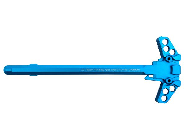 New from Presma®! Anodized Ambidextrous Charging Handles, 223/5.56 Blue
