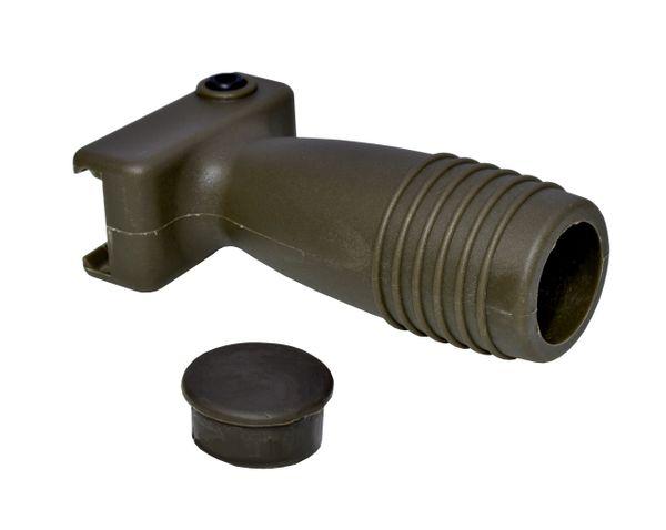 Tactical Vertical Short Foregrip, Dark Green