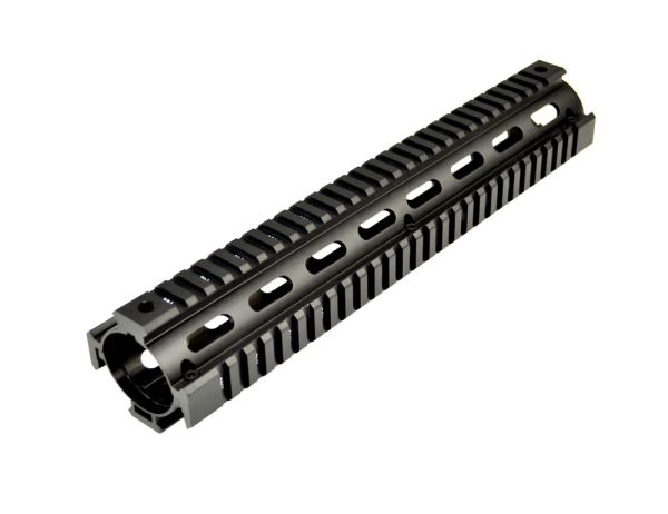 2 Piece Drop In Handguard Quad Rail Mount for 223/5.56, Rifle Length 12""