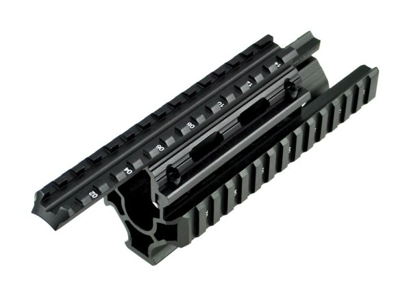 AK47 AK74 2 Piece Duct Cover Handguard Rail Mount