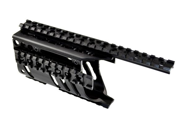Ruger Mini 14/Mini 30 Handguard Quad Rail Mount