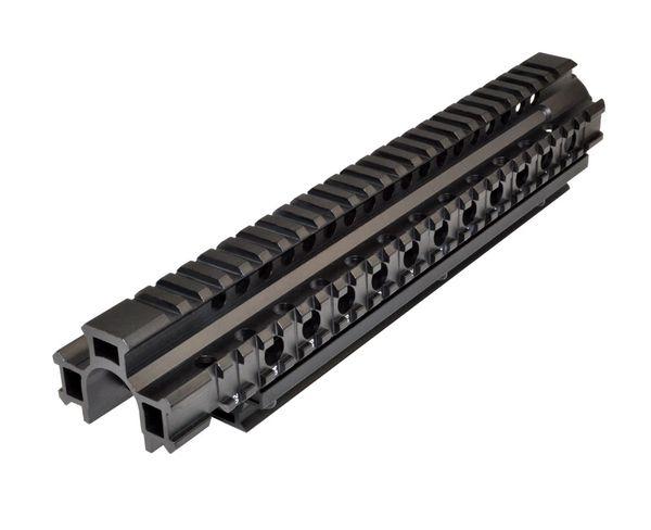 FN/FAL 2 piece Forend Handguard Quad Rail, AR Style