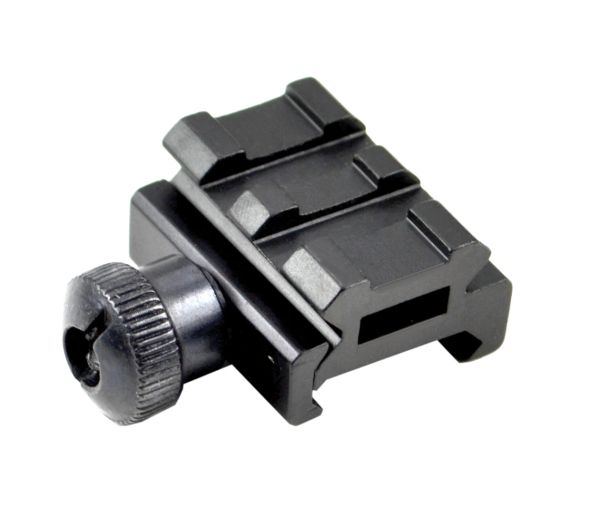 "0.5"" Low Profile Riser Mount - 2 Picatinny Slots"