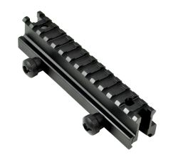 "1"" High Profile Riser Mount - 14 Picatinny slots"