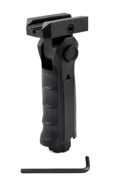 Tactical 5 Position Folding Foregrip, Black