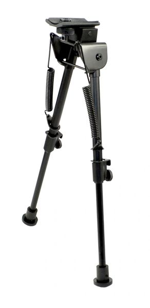 "Tactical Precision Bipod with Foldable and Spring Loaded Legs, 7""-11"""