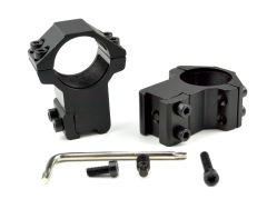 "High Profile 1"" Scope Rings for Dovetail System"