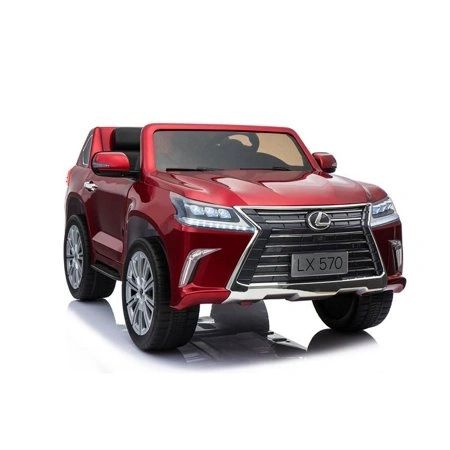 PAINTED LICENSED LEXUS 570 WITH TOUCH SCREEN TV AND REMOTE , LEATHER SEAT , 4WD