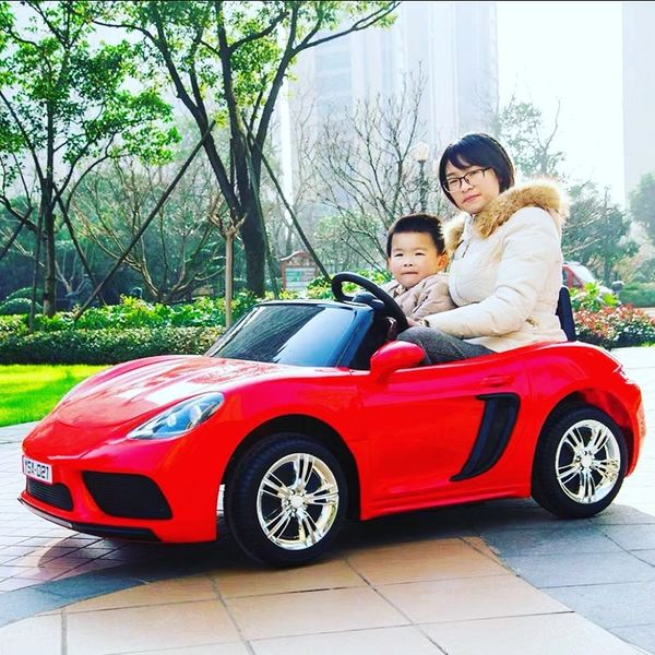 Porsche Style RED with Remote OR step on pedal and go