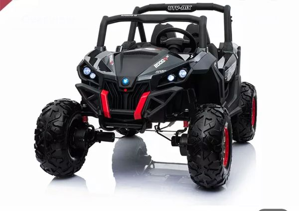 TOUCH TV , 24v , R/C RAZOR STYLE, PARENTAL REMOTE CONTROL OR PRESS ON PEDAL AND GO.. LEATHER SEAT , RUBBER TIRES , 4WD .