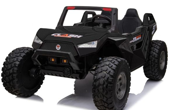CARBON FIBER SPECIAL EDITION ) TOUCH TV , 24V , GIANT XL Buggy RAZOR STYLE, PARENTAL REMOTE CONTROL OR PRESS ON PEDAL AND GO.AGES 2-10 LEATHER SEAT , RUBBER TIRES , 4WD .