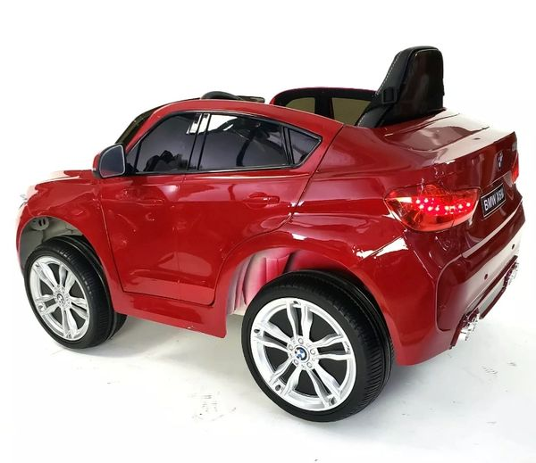 BMW X6 Ride On Electric Toy car Rubber tire , leather Seat