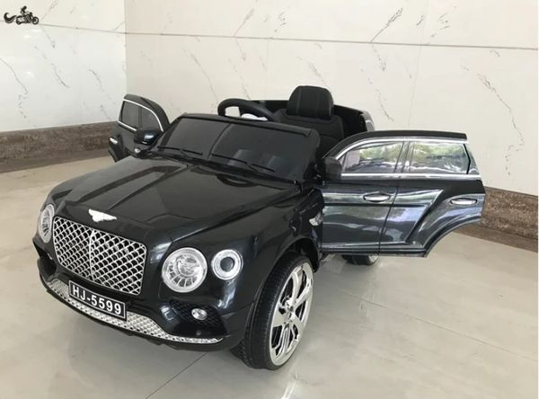 Licensed Bentley Ride on Toy car Rubber Tires Leather seat