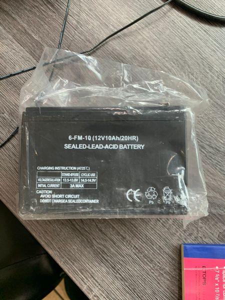 12v 10Ah battery