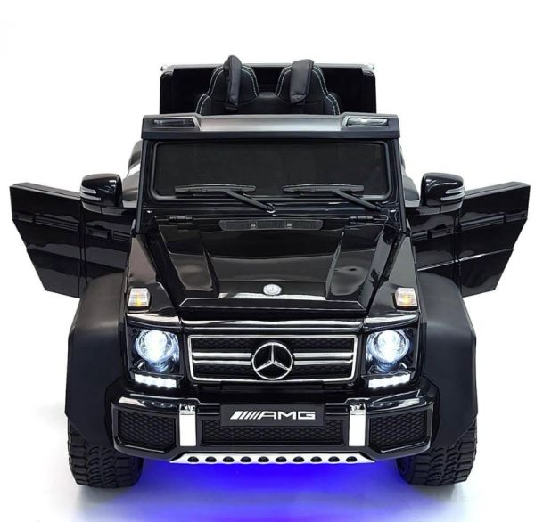TOUCH TV , MERCEDES G63 LUXURY SIX WHEEL DRIVE WITH SPARE BATTERY BOX FOR ADULTS AND KIDS TO DRIVE TOGETHER. 6 x BIG MOTORS