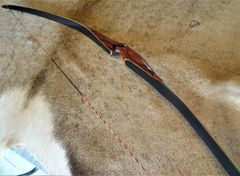 "58"" 31#@28"" Lefty Save the Rainforest Cocobolo with Black Glass Torrent Longbow"