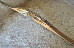 "48"" 18#@24"" Bocote, Cherry and Yew Premium Lil Rapids Youth Longbow"