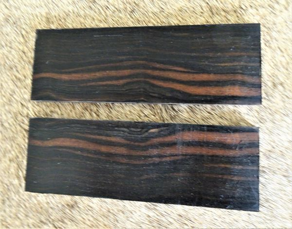 Knife Scales Maccassar Ebony06