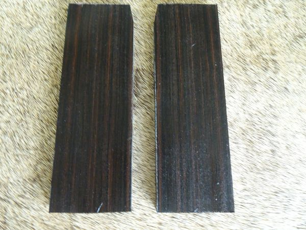 Knife Scales Maccassar Ebony02