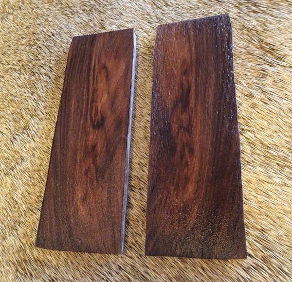 Knife Scales Honduras Rosewood12