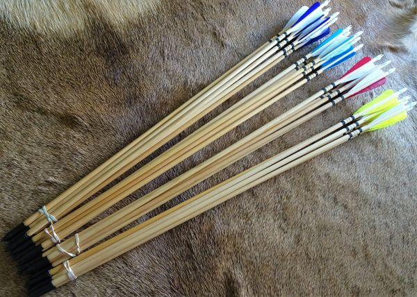 """Arrows for Big Rapids Youth Bow 1/2 Dozen 28"""""""