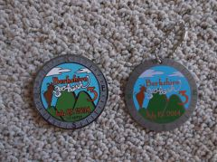 Berkshire Geobash #3 Geocoin (2014) with proxy tag