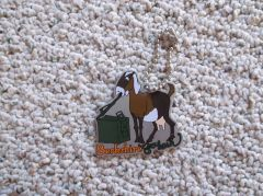 Berkshire Geobash Goat Travel Tag