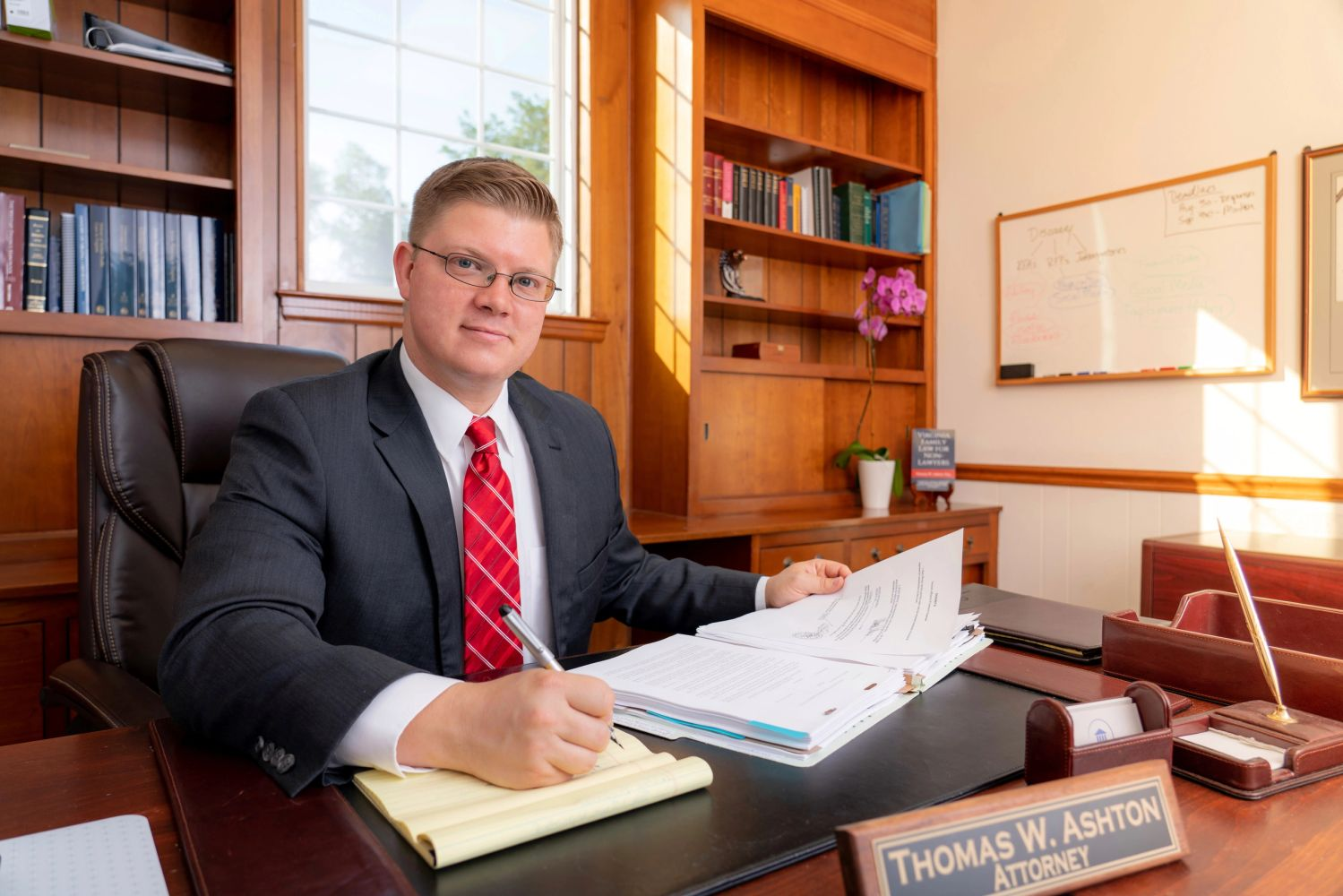 Thomas Ashton, divorce and family law attorney in Roanoke, Virginia.