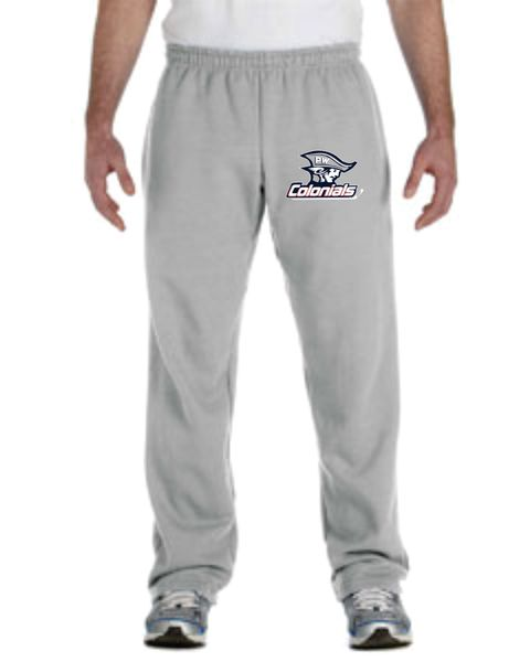 PW 50/50 Open-Bottom Sweatpants