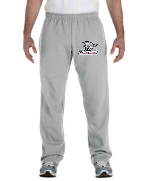 PW 50/50 Open-Bottom Sweatpants