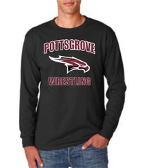 Black Long Sleeve Youth and Adult