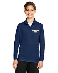 SF Navy Wicking 1/4 zip Youth and Adult