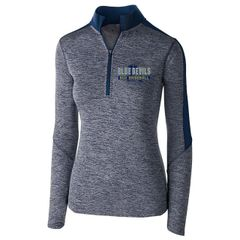 SCH Holloway Ladies Electrify 1/2 Zip Pullover