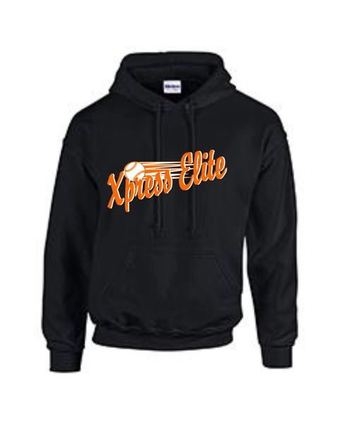 Xpress Black Sweatshirt youth and adult