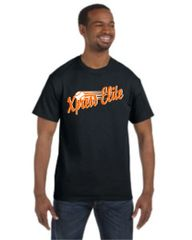 Xpress Black Tee Youth and Adult