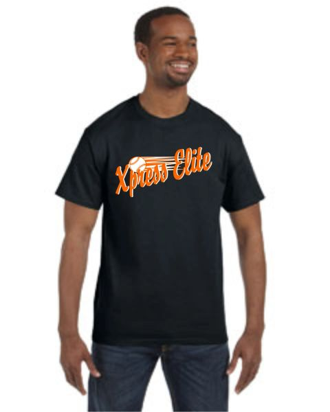 Xpress Black or Charcoal Tee Youth and Adult
