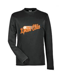 Xpress Black Long Sleeve Wicking Youth and Adult