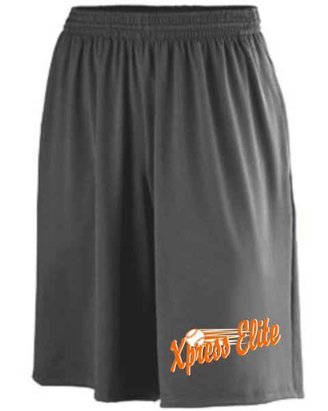 Express AG949 Adult Polyester/Spandex Short with Pockets