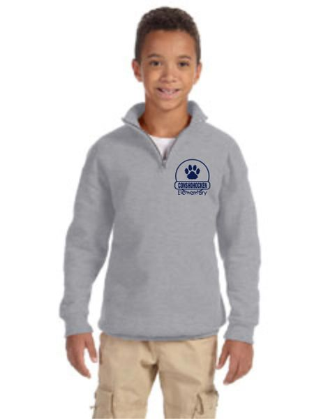 CE 1/4 Zip Fleece Sweatshirt Youth and Adult