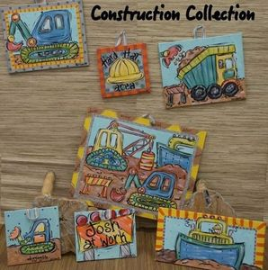 Construction Collection Stretched Canvases