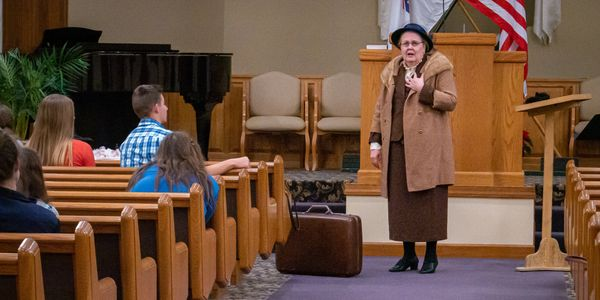 Shelley Hendry as Corrie ten Boom
